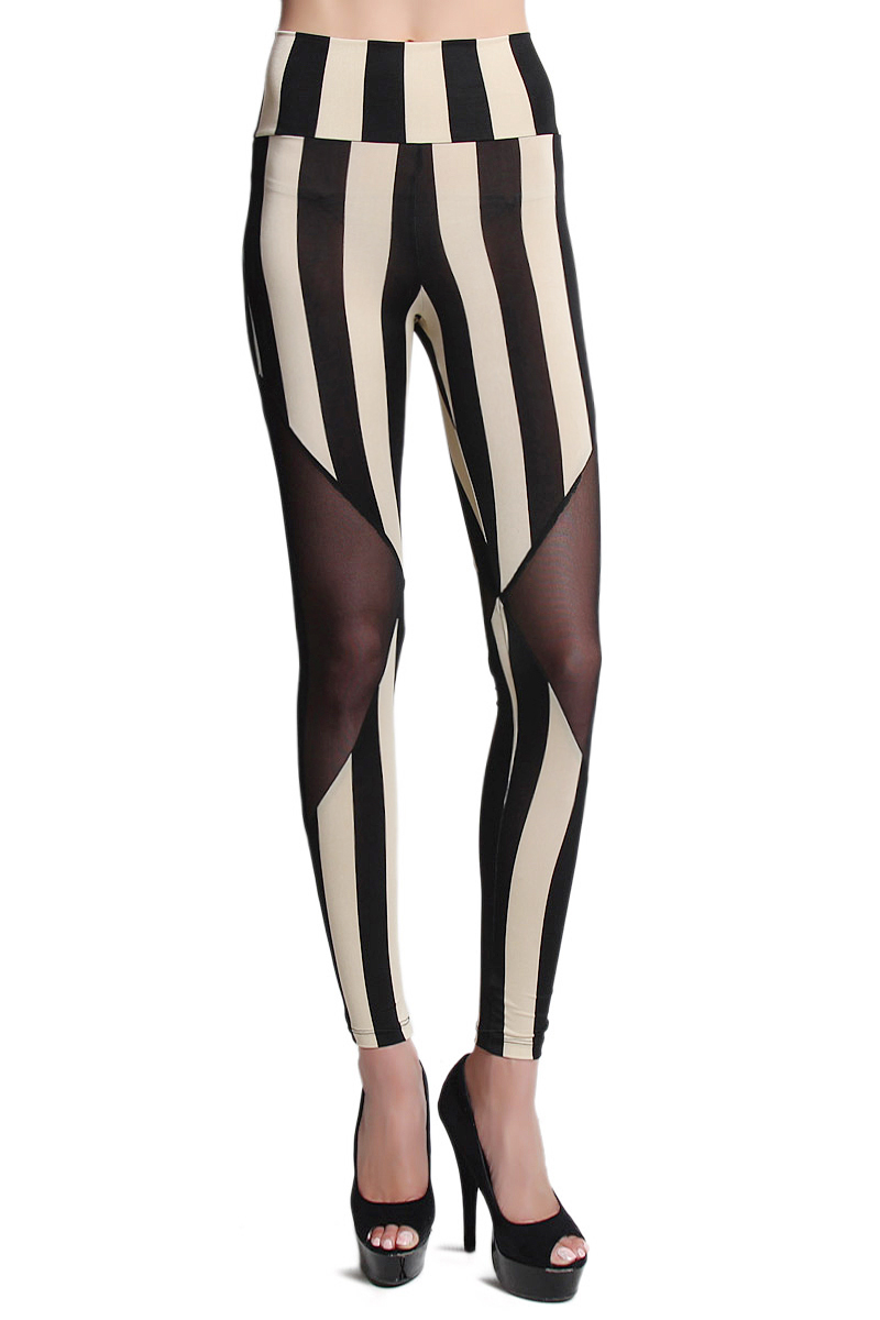 8a46695b Fashion Nova high waisted striped leggings - vinted.com